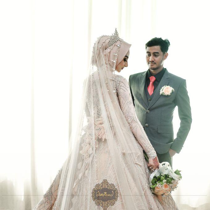 The Wedding of Salsabilla & Hisyam by Diamond Weddings - 018