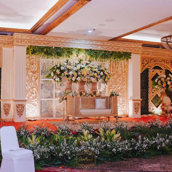 The Wedding of Isa & Bayu by Diamond Weddings - 003