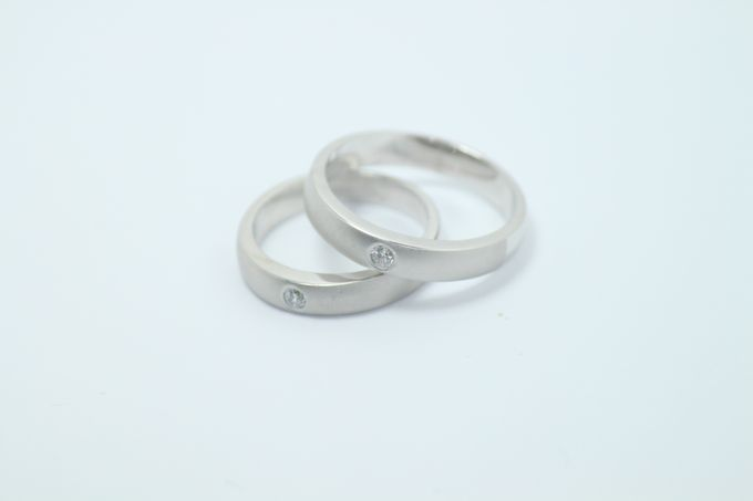 wedding ring simple Design by V&Co Jewellery - 007