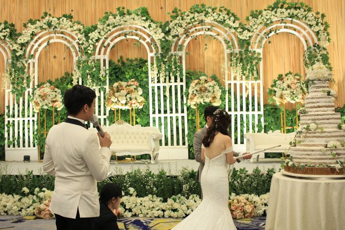 MC Wedding Menara Mandiri Jakarta - Anthony Stevven by IKK Wedding Planner - 006
