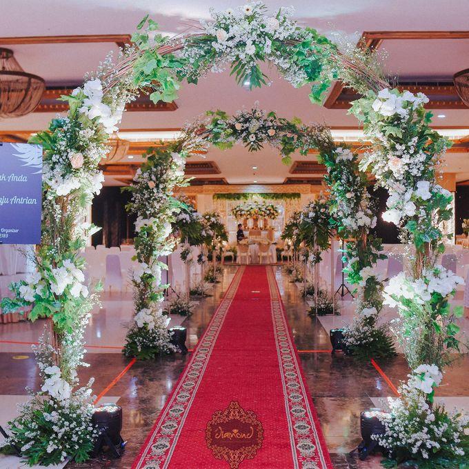 The Wedding of Isa & Bayu by Diamond Weddings - 005