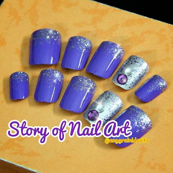 Fake Nails by Story of Nailart - 008