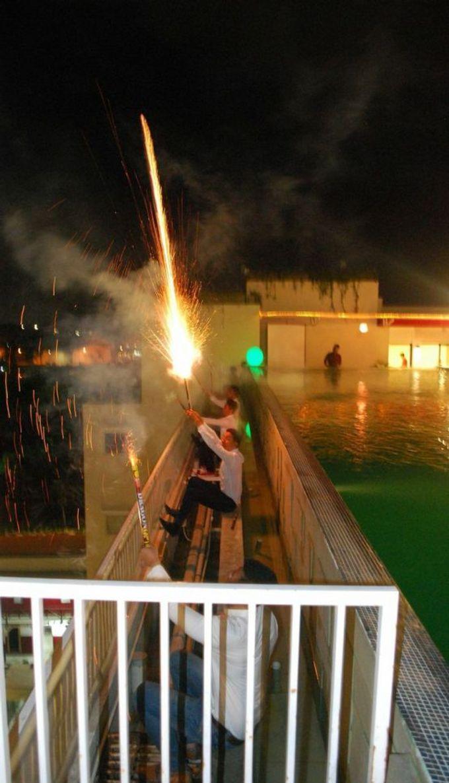 Party at rooftop by The Atanaya Hotel - 005