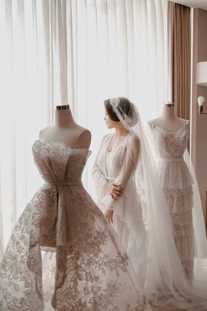 Alvin & Natasha Wedding by Philip Formalwear - 036