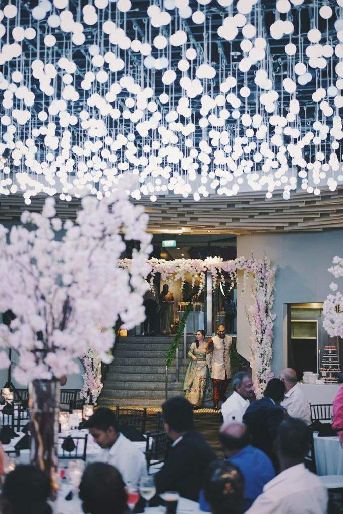 Cross National & Cultural Wedding at Gardens by the Bay by Glittering Carousel - 005