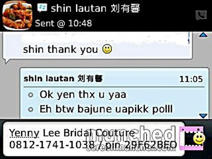 Testimonial by Yenny Lee Bridal Couture - 002