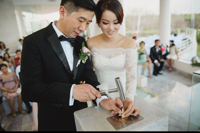Wedding of Vina & Simon by Hilton Bali Resort - 022