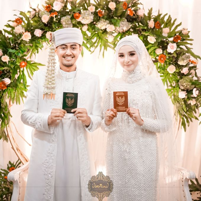 The Wedding of Salsabilla & Hisyam by Diamond Weddings - 013