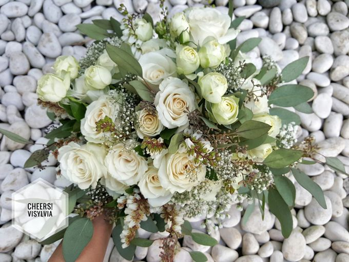 WEDDING BOUQUET  by visylviaflorist - 003