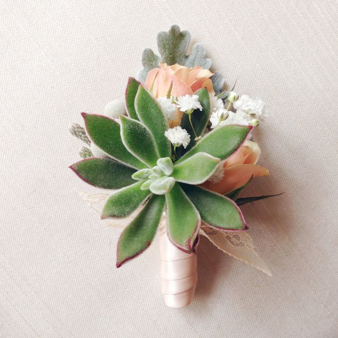 Boutonniere & Corsage by Twigs and Twine - 005