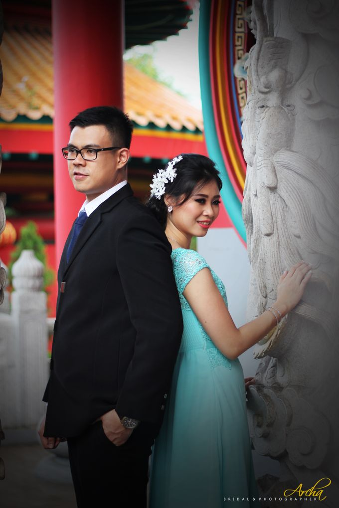 Prewedding outdoor by Archa makeup artist - 008