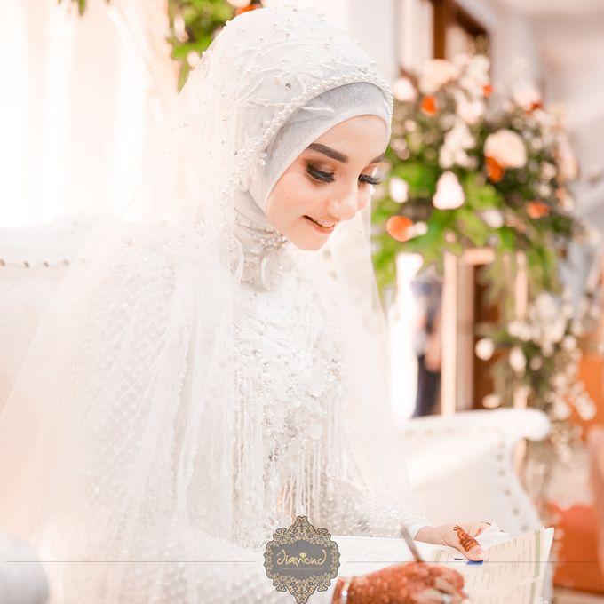 The Wedding of Salsabilla & Hisyam by Diamond Weddings - 014