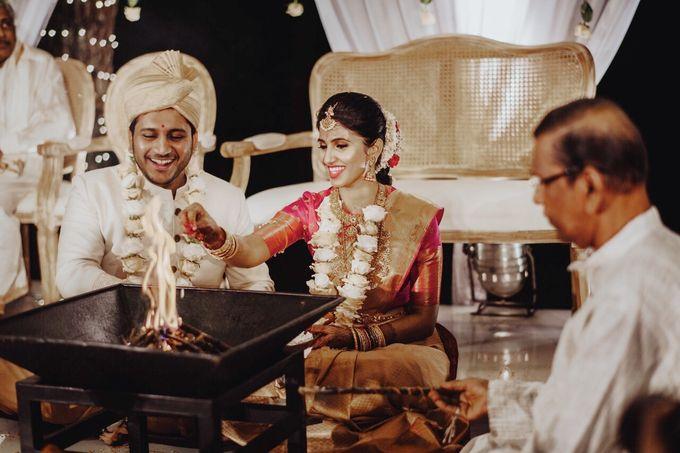The Wedding Of Nishant & Vinutha by Elior Design - 009