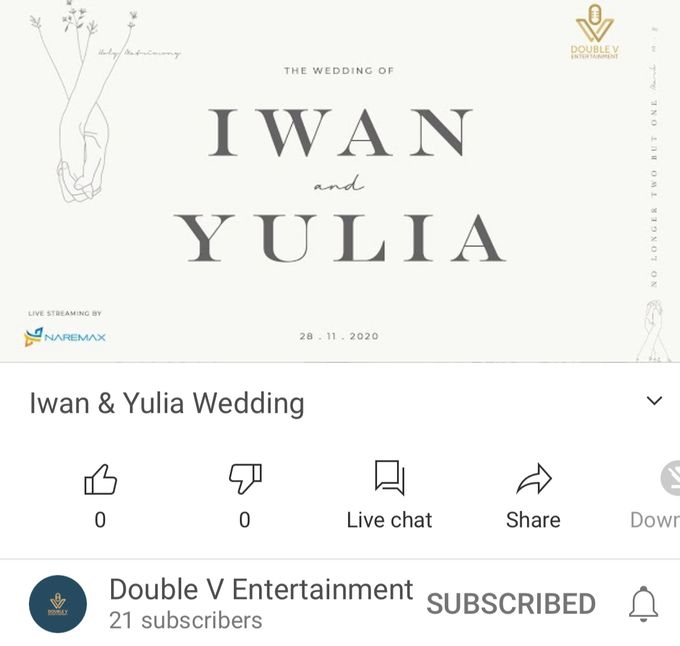 New Normal Wedding Jazz Entertainment at Sheraton Jakarta - Double V entertainment by Double V Entertainment - 002