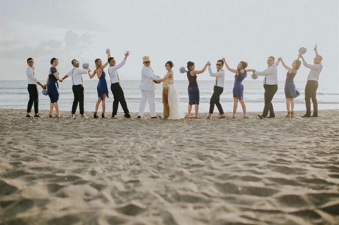 Nagisa Bali Wedding for Tiara & Adit by Nagisa Bali - 007