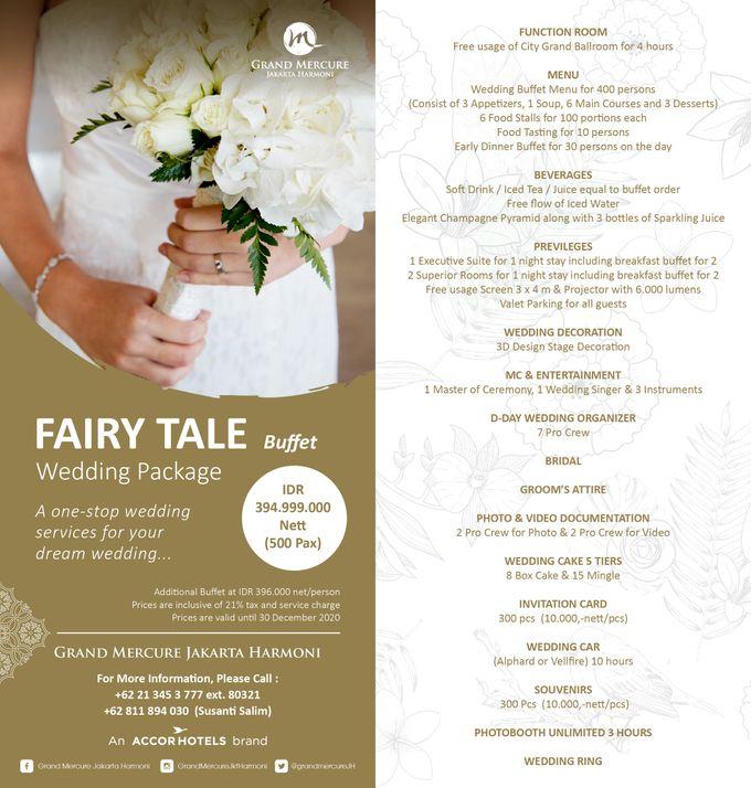 One Stop Package Fairy Tale Wedding by GRAND MERCURE Jakarta Harmoni - 002