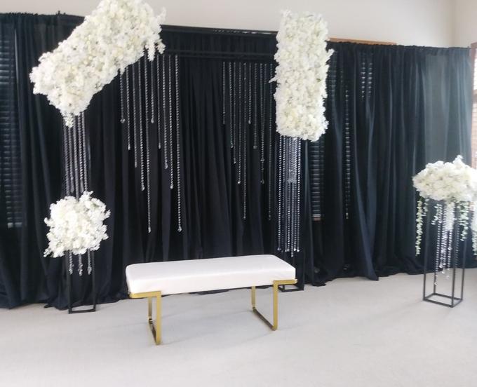 Engagement party backdrop by Fairytale Unique Decor - 006