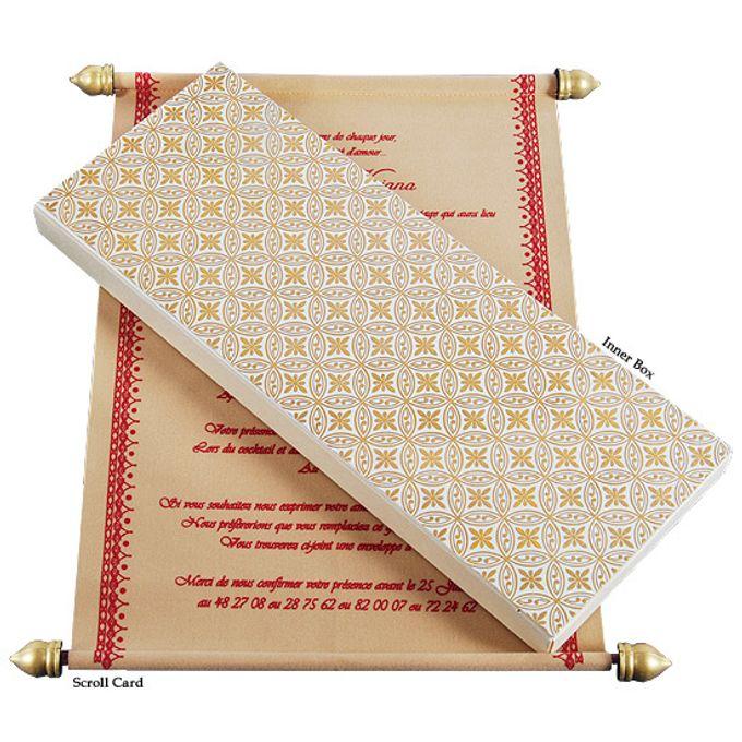 Scroll Wedding Invitations by A2zWeddingcards - 006