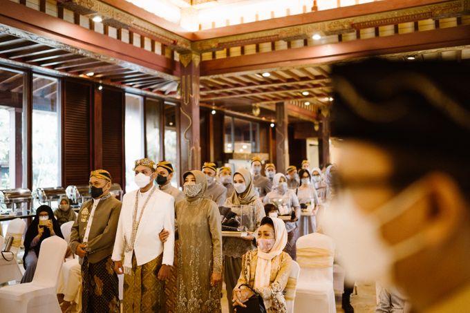 Farrah & Ega Wedding at Sultan Hotel Jakarta (Kudus Hall) by The Sultan Hotel & Residence Jakarta - 032