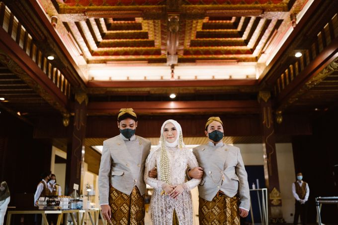 Farrah & Ega Wedding at Sultan Hotel Jakarta (Kudus Hall) by The Sultan Hotel & Residence Jakarta - 025