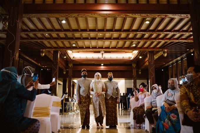 Farrah & Ega Wedding at Sultan Hotel Jakarta (Kudus Hall) by The Sultan Hotel & Residence Jakarta - 028