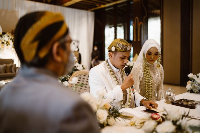 Farrah & Ega Wedding at Sultan Hotel Jakarta (Kudus Hall) by The Sultan Hotel & Residence Jakarta - 024