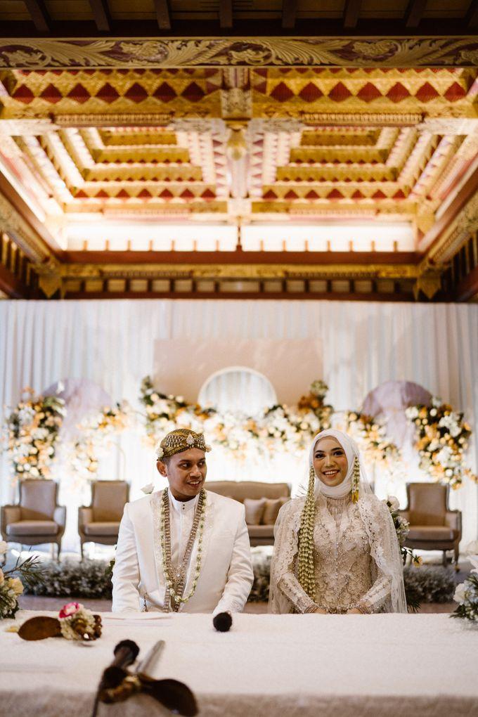 Farrah & Ega Wedding at Sultan Hotel Jakarta (Kudus Hall) by The Sultan Hotel & Residence Jakarta - 021