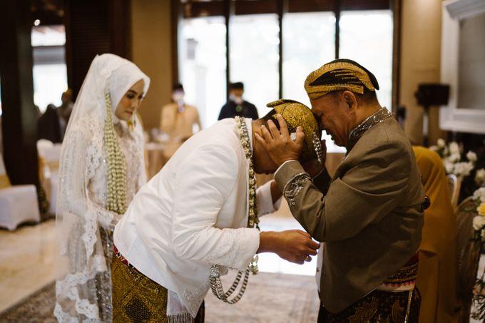 Farrah & Ega Wedding at Sultan Hotel Jakarta (Kudus Hall) by The Sultan Hotel & Residence Jakarta - 023