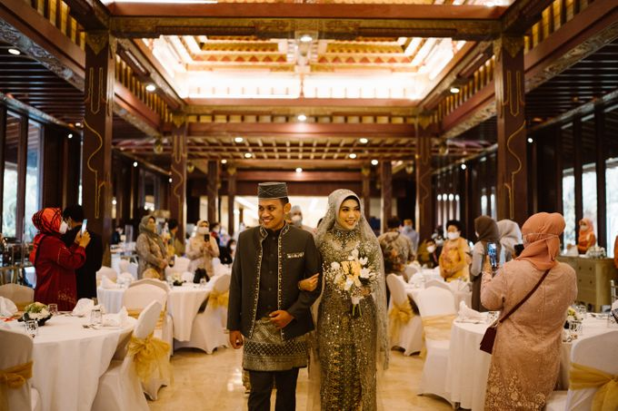 Farrah & Ega Wedding at Sultan Hotel Jakarta (Kudus Hall) by The Sultan Hotel & Residence Jakarta - 013