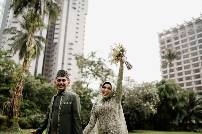 Farrah & Ega Wedding at Sultan Hotel Jakarta (Kudus Hall) by The Sultan Hotel & Residence Jakarta - 002
