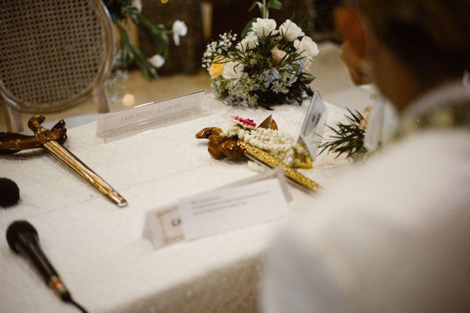 Farrah & Ega Wedding at Sultan Hotel Jakarta (Kudus Hall) by The Sultan Hotel & Residence Jakarta - 034