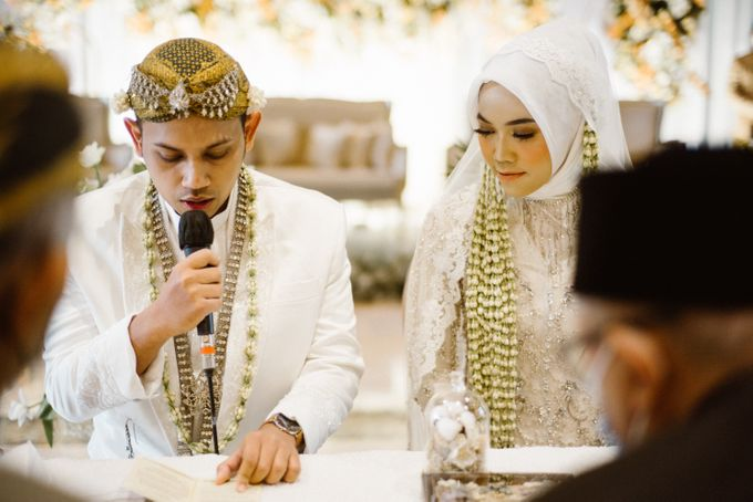 Farrah & Ega Wedding at Sultan Hotel Jakarta (Kudus Hall) by The Sultan Hotel & Residence Jakarta - 026