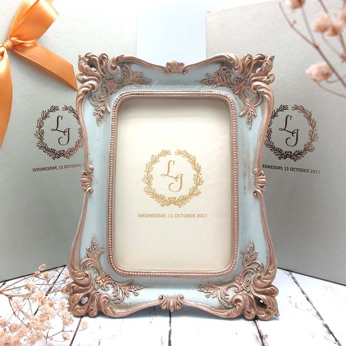 Add To Board Frame Fiber Inlcude Personalised Box By Fine Souvenir