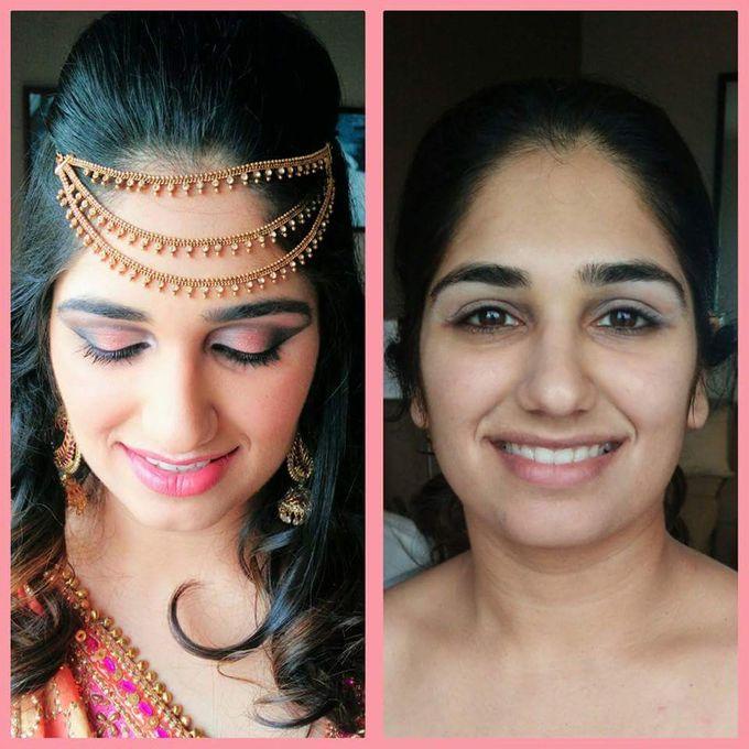 Goa Wedding Makeup Artist by Hazira Makeup Artist Goa - 008