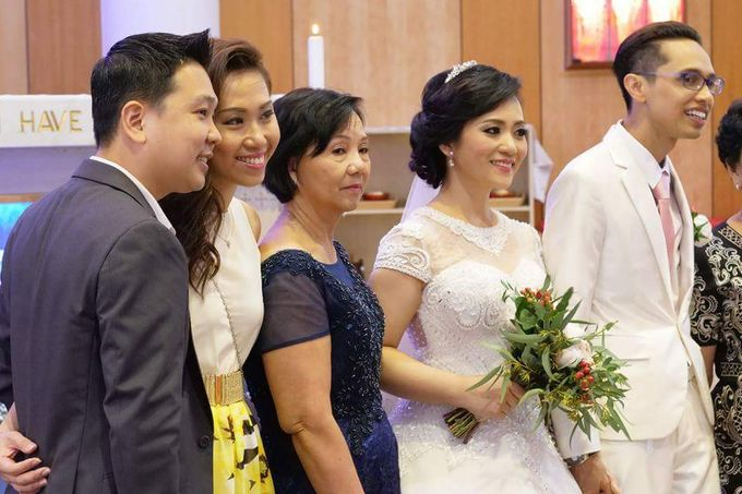 Mikaela's Holly Matrimony (Church Wedding) by Lili Makeup Specialist - 001