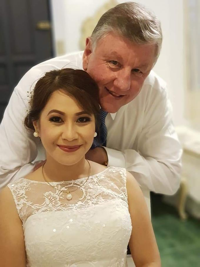 Mr & Mrs. Mcmahon ❤ by D' Makeup Artist - 003