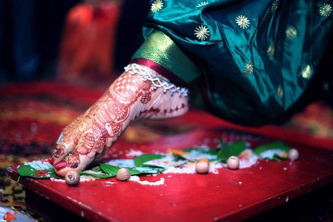 Maharashtrian Wedding Candid by Arrow Multimedia - 016
