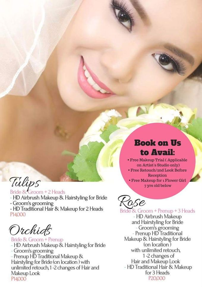 Add To Board 2018 Hair & Makeup Promo Packages by D' Makeup Artist - 001