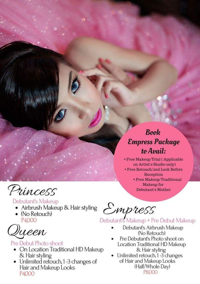 2018 Hair & Makeup Promo Packages by D' Makeup Artist - 002