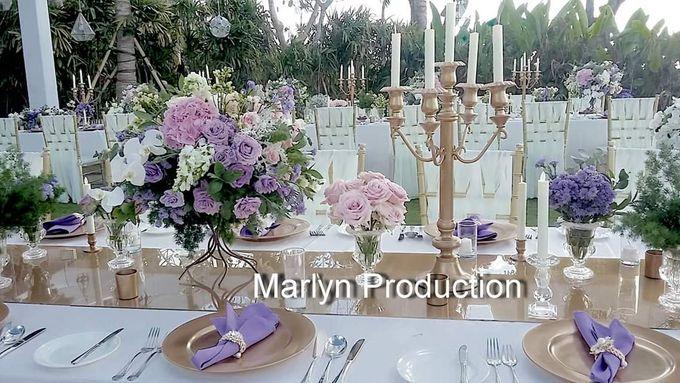 Tresna Lawn Wedding Dinner Reception by Marlyn Production - 005
