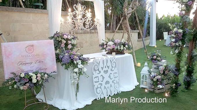 Tresna Lawn Wedding Dinner Reception by Marlyn Production - 001