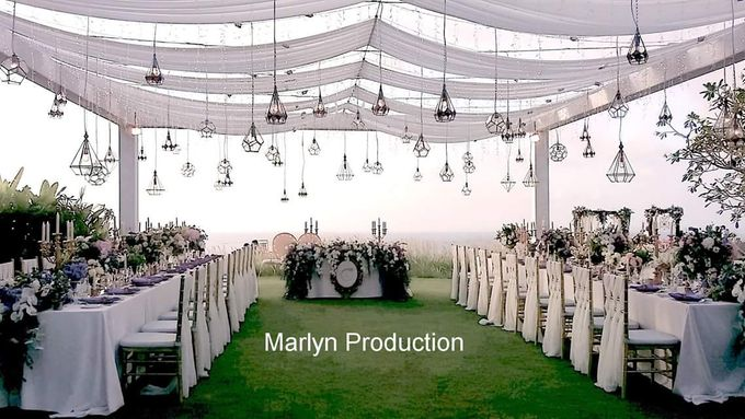 Tresna Lawn Wedding Dinner Reception by Marlyn Production - 004