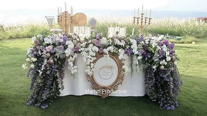 Tresna Lawn Wedding Dinner Reception by Marlyn Production - 003