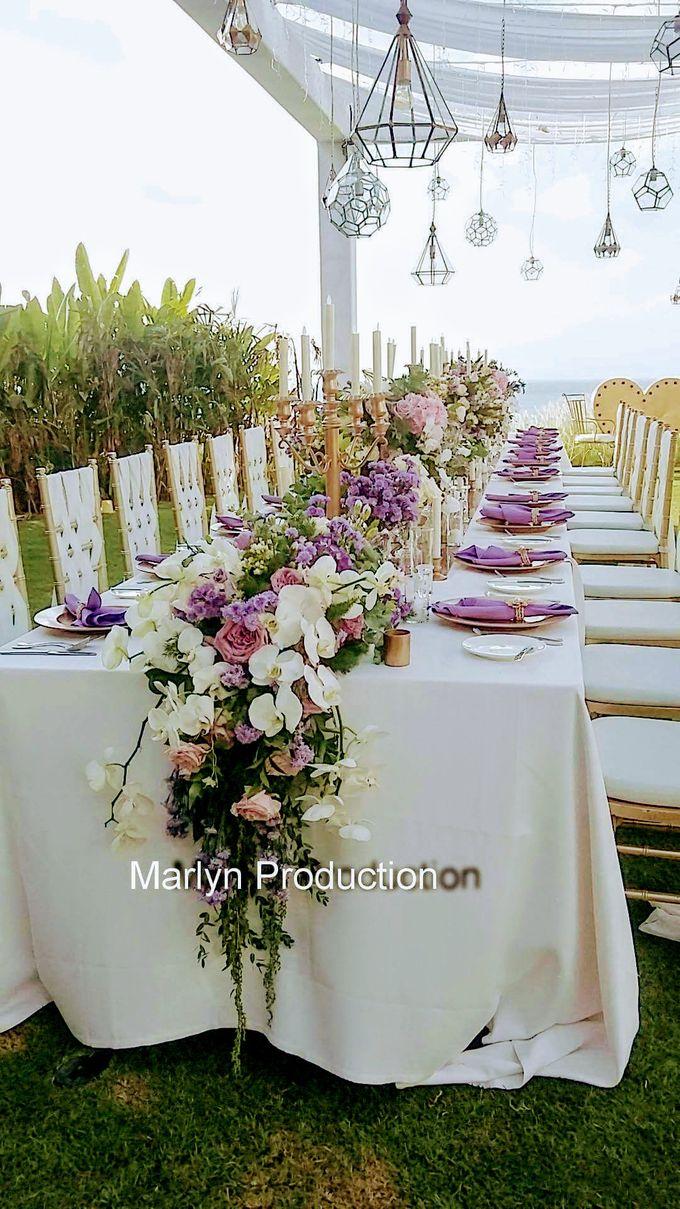 Tresna Lawn Wedding Dinner Reception by Marlyn Production - 008