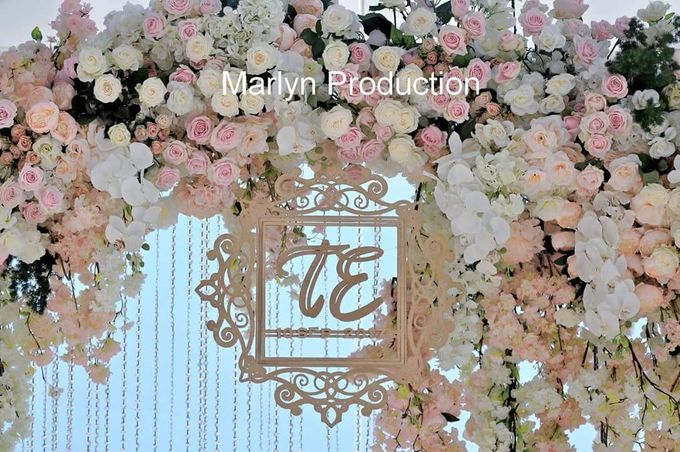 Ritz Carlton chapel Wedding Ceremony by Marlyn Production - 007