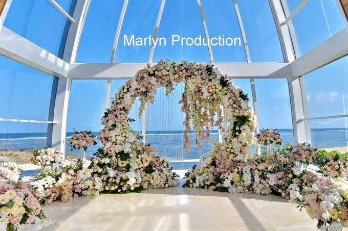 Ritz Carlton chapel Wedding Ceremony by Marlyn Production - 004