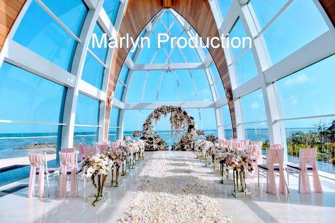 Ritz Carlton chapel Wedding Ceremony by Marlyn Production - 005
