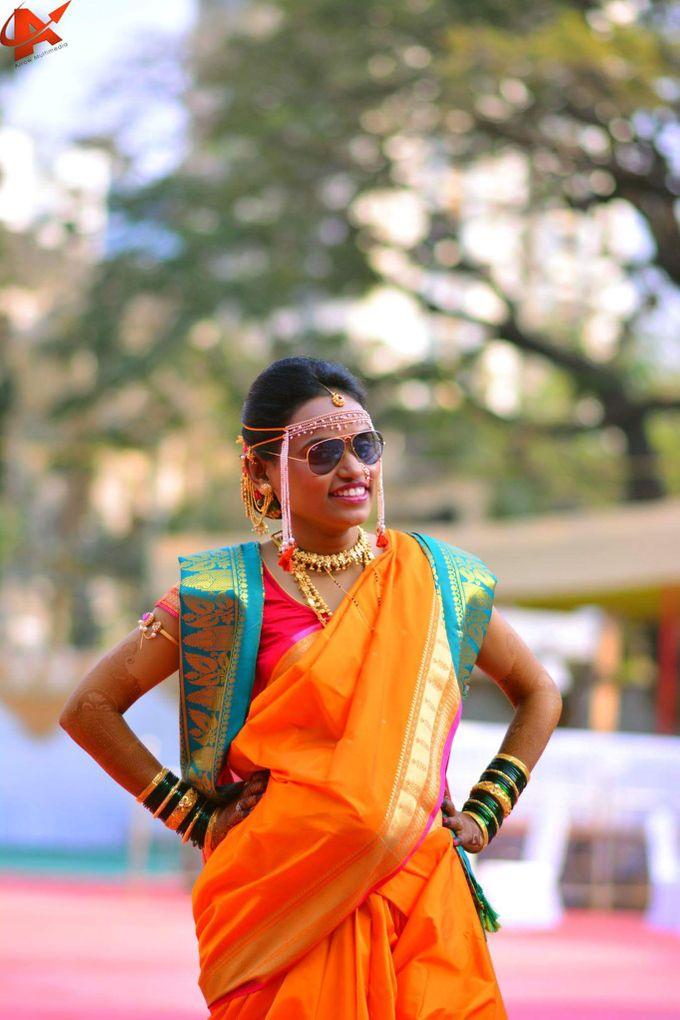 Maharashtrian Wedding Candid by Arrow Multimedia - 010