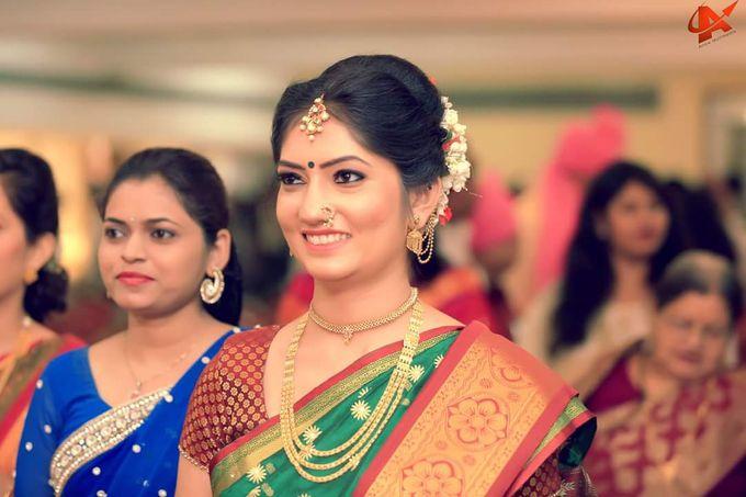 Maharashtrian Wedding Candid by Arrow Multimedia - 020