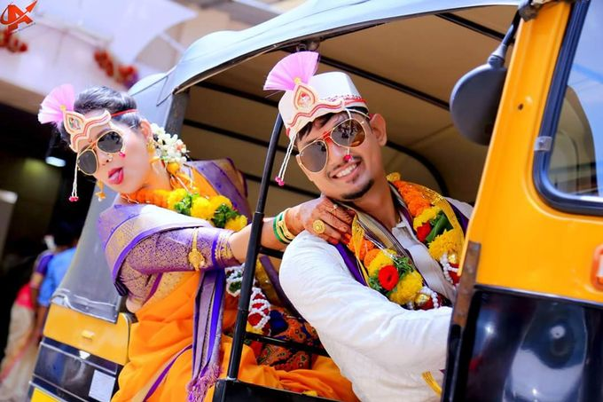Maharashtrian Wedding Candid by Arrow Multimedia - 009